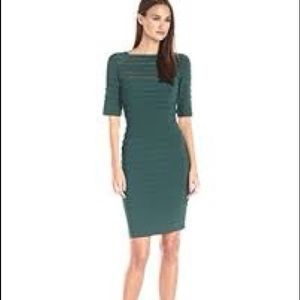 Adrianna Pappell Illusion Banded Dress